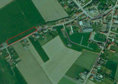 bca-bouwgronden-te-koop-meigem-luchtfoto