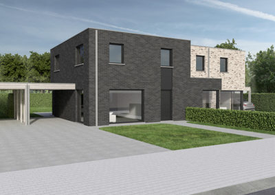 kaprijek-zuidstraat-loten-64-65-modern-plat-dak-hoek-straatkant