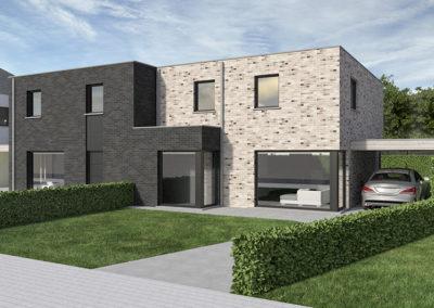 kaprijek-zuidstraat-loten-64-65-modern-plat-dak-straatkant-zoom