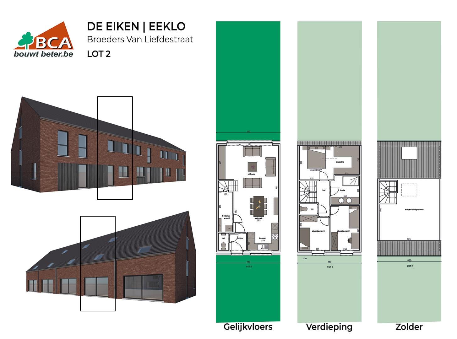 Eeklo-de-eiken-plannen-lot-2
