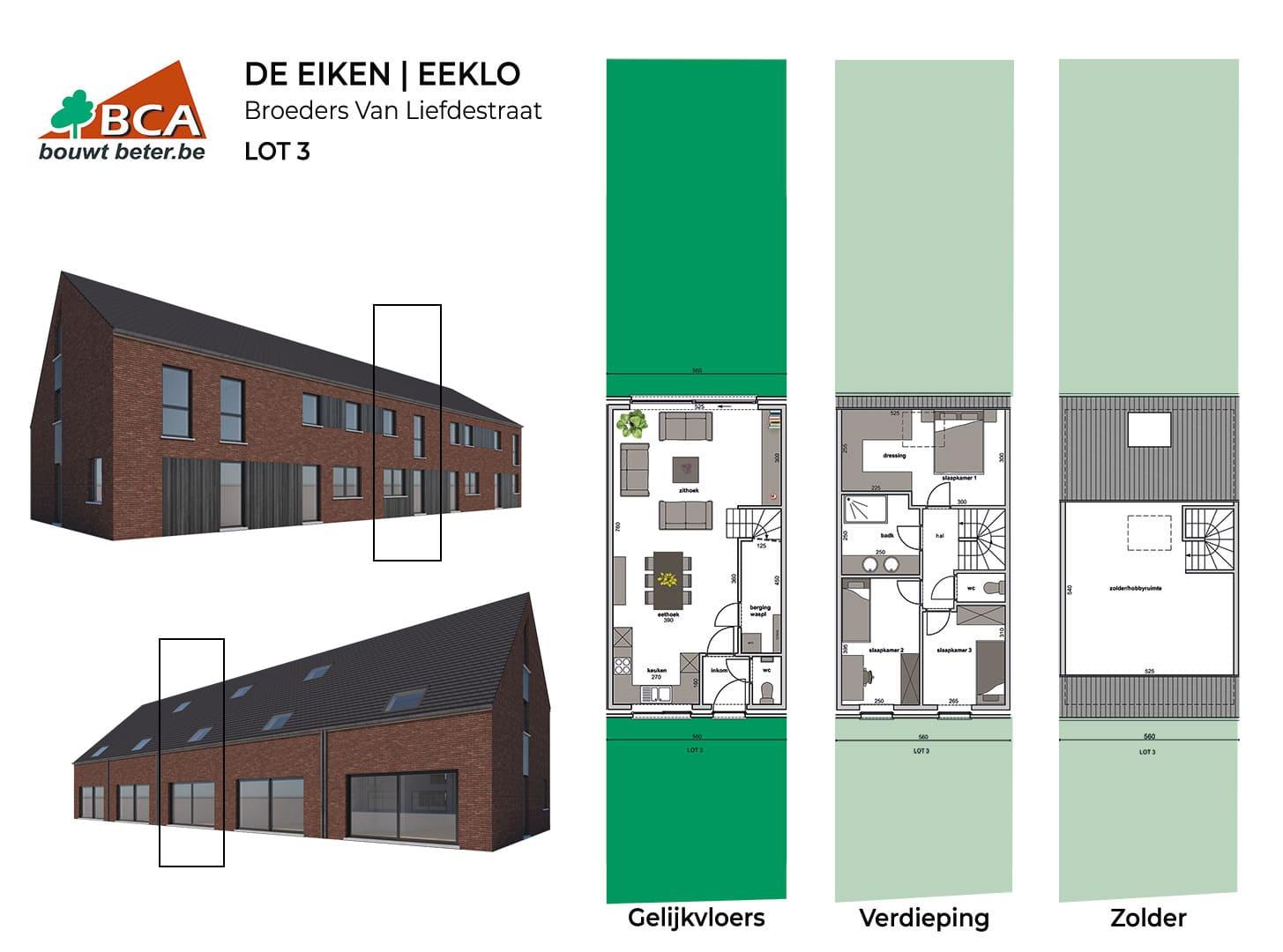 Eeklo-de-eiken-plannen-lot-3