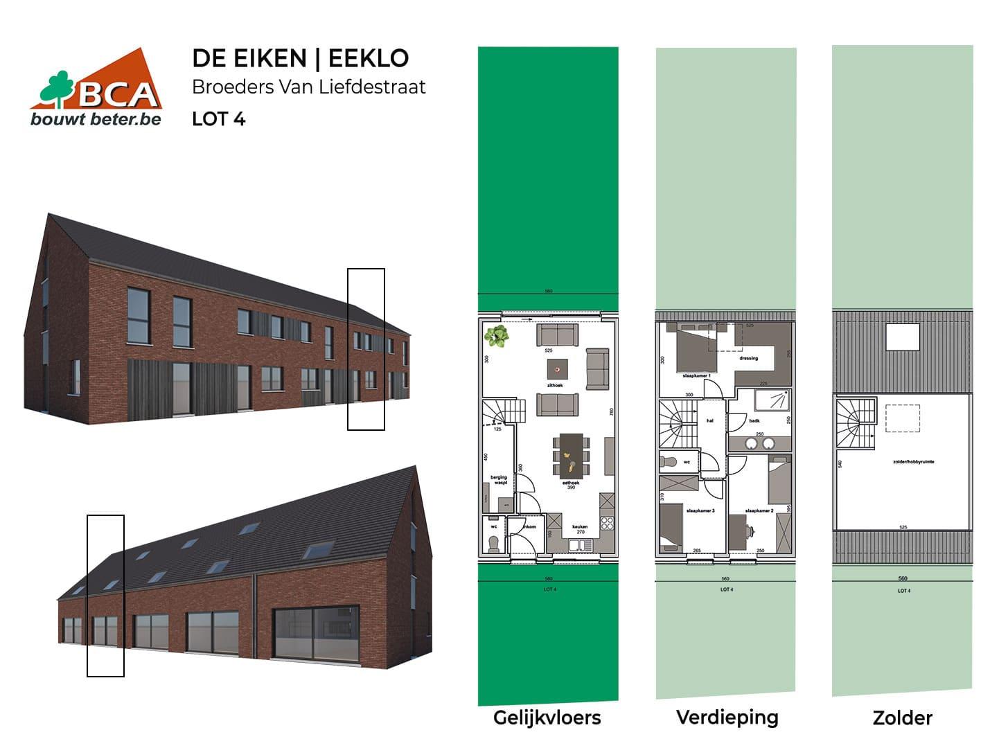 Eeklo-de-eiken-plannen-lot-4