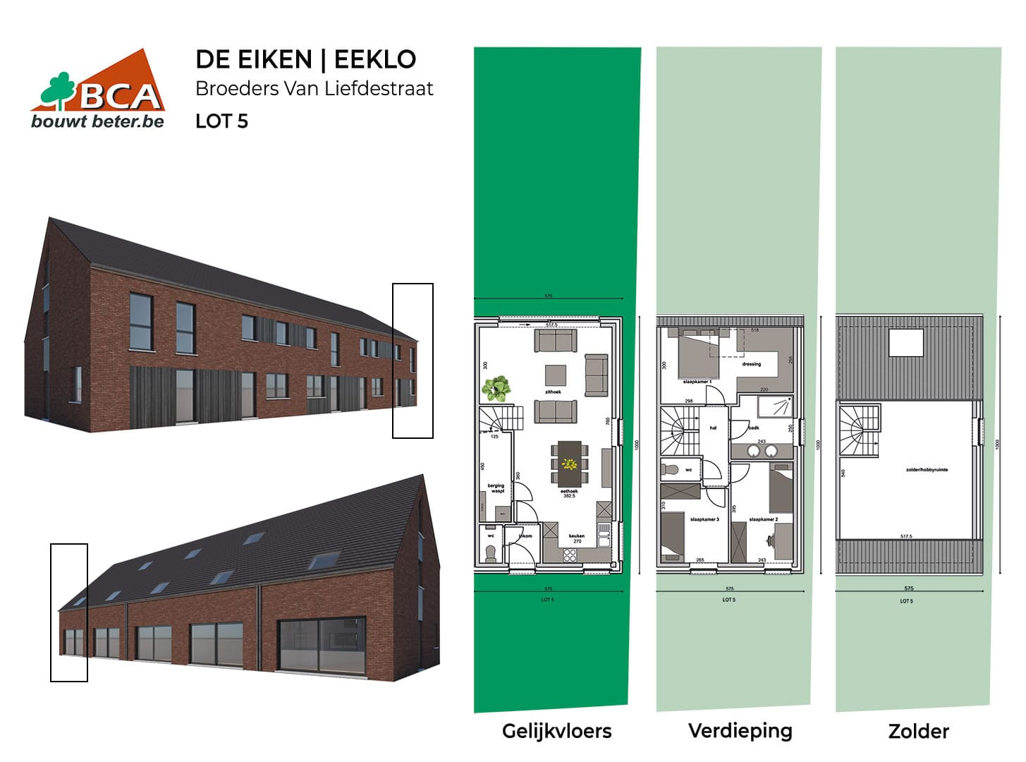 Eeklo-de-eiken-plannen-lot-5