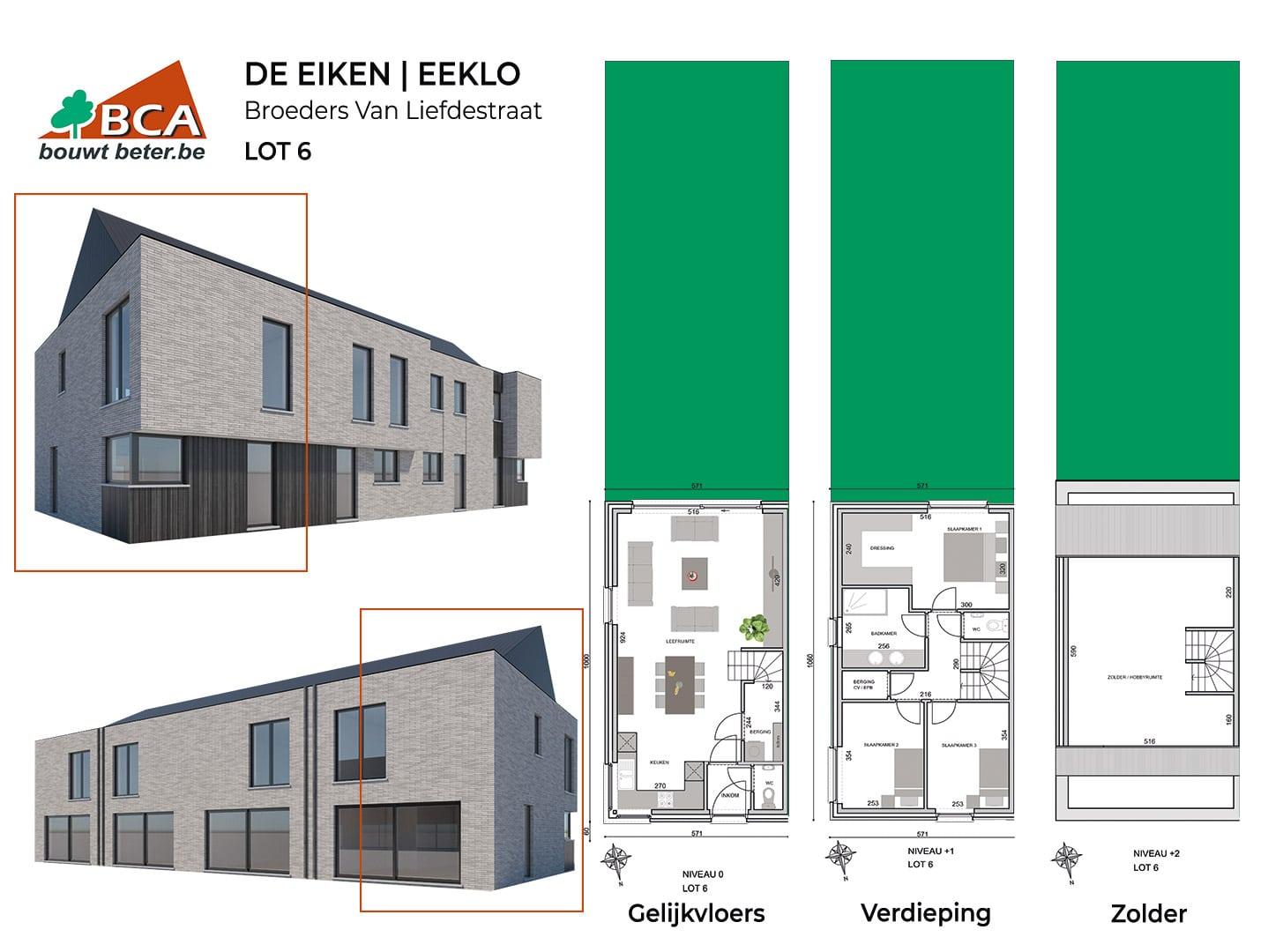 Eeklo-de-eiken-plannen-lot-6