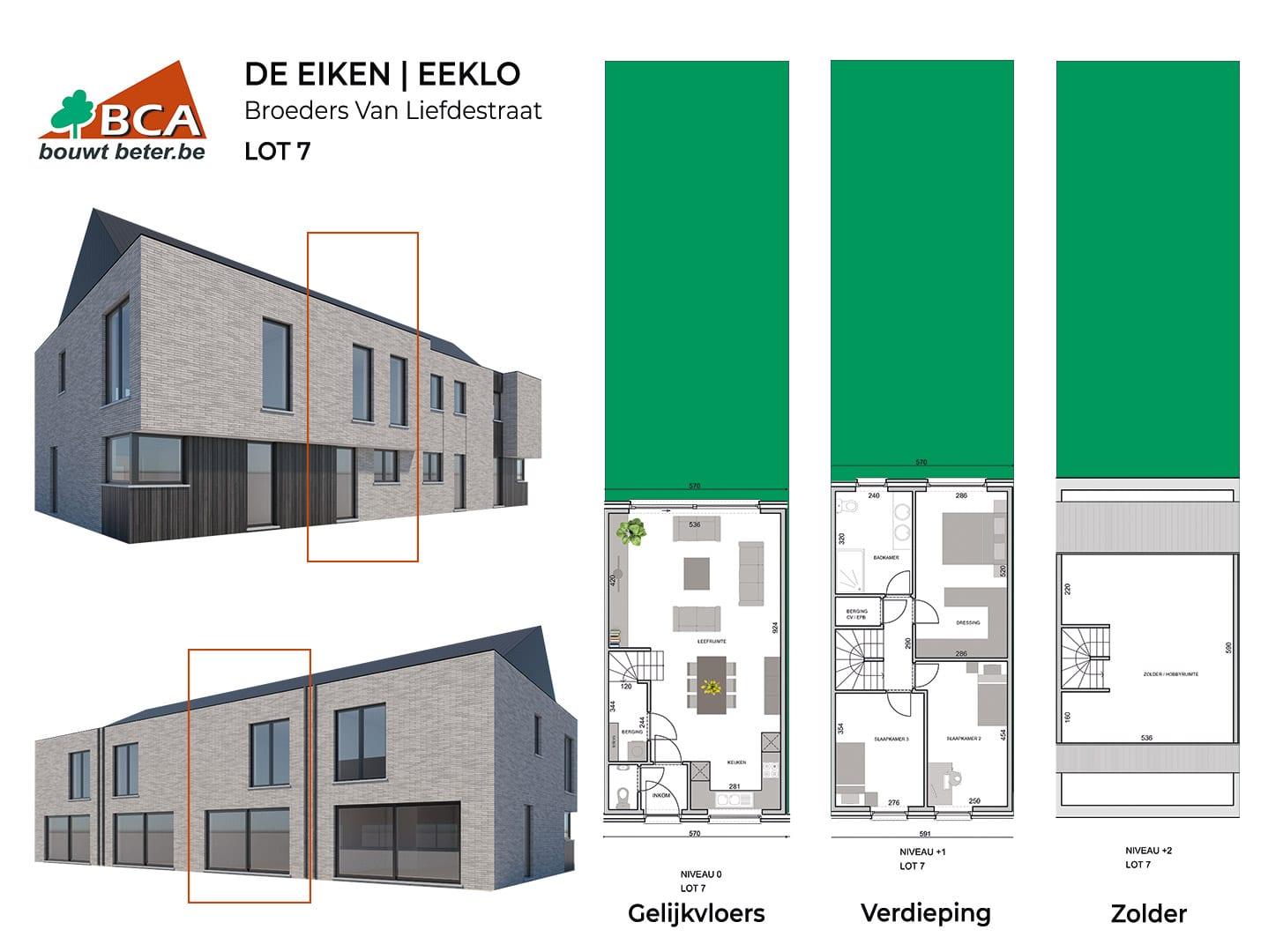 Eeklo-de-eiken-plannen-lot-7