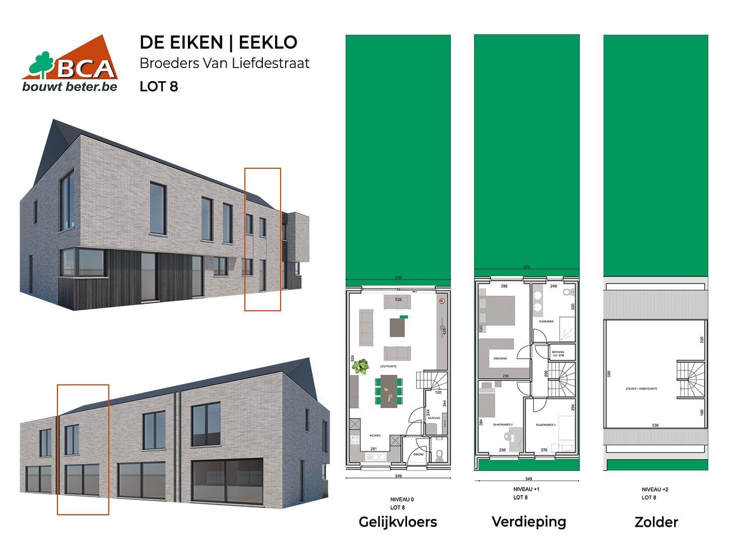 Eeklo-de-eiken-plannen-lot-8