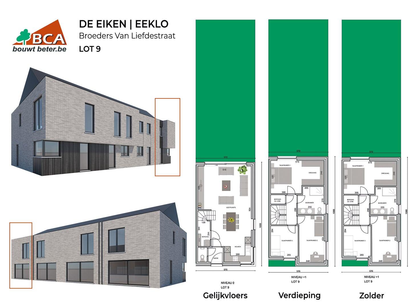 Eeklo-de-eiken-plannen-lot-9